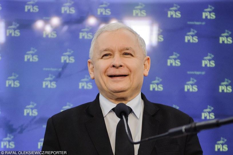 Jarosław Kaczyński, prezes PiS /Rafał Oleksiewicz /Reporter
