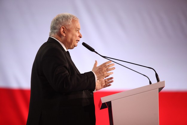 Jarosław Kaczyński, prezes PiS /Stefan Maszewski /Reporter