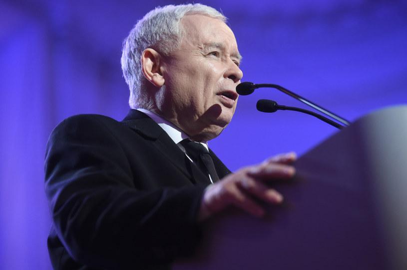 Jarosław Kaczyński, prezes PiS /Maria Jaworska /Reporter