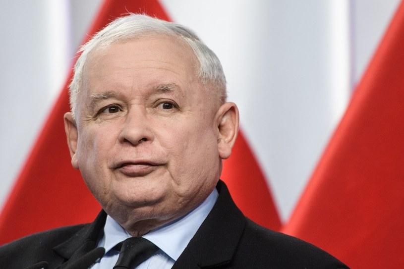 Jarosław Kaczyński, prezes PiS /Rafal Oleksiewicz /Reporter