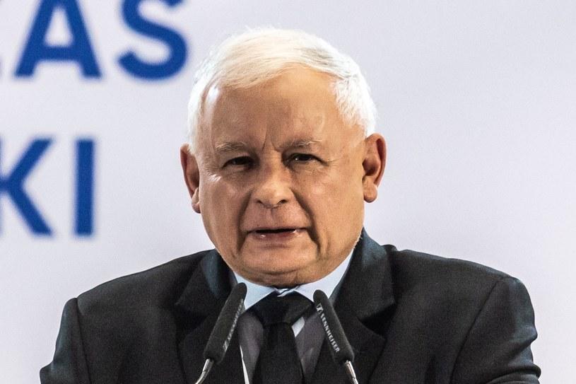 Jarosław Kaczyński, prezes PiS /Krzysztof Kaniewski/REPORTER /Reporter