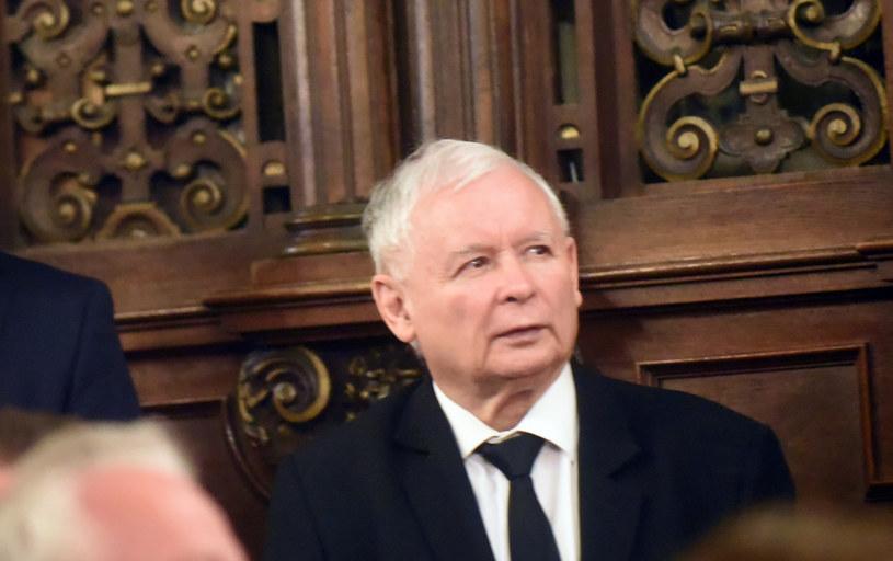 Jarosław Kaczyński, prezes PiS /Marek Lasyk  /Reporter