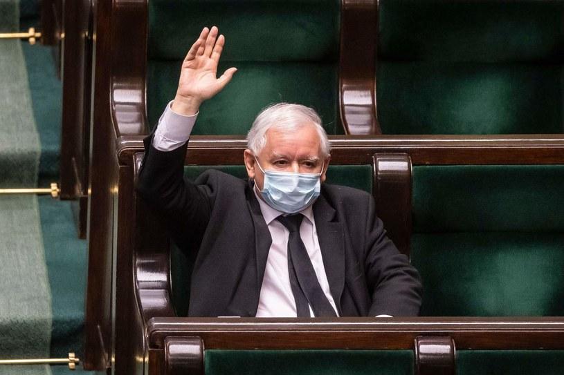 Jarosław Kaczyński, prezes PiS /AFP