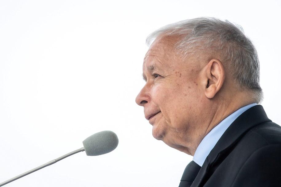 Jarosław Kaczyński, prezes Prawa i Sprawiedliwości / Tytus Żmijewski    /PAP