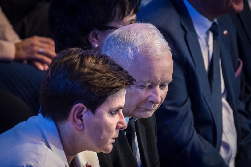 Jarosław Kaczyński ściągnie z Brukseli Beatę Szydło? /Jacek Domiński /Reporter