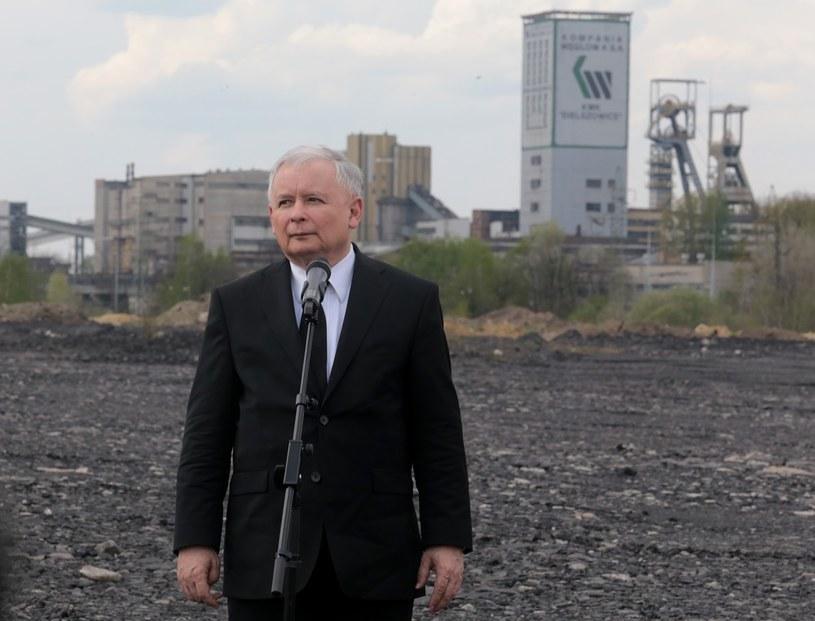 Jarosław Kaczyński: Śląsk powinien być kołem zamachowym polskiej gospodarki /Dominik Gajda /Reporter