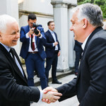 Jarosław Kaczyński spotkał się z Viktorem Orbanem