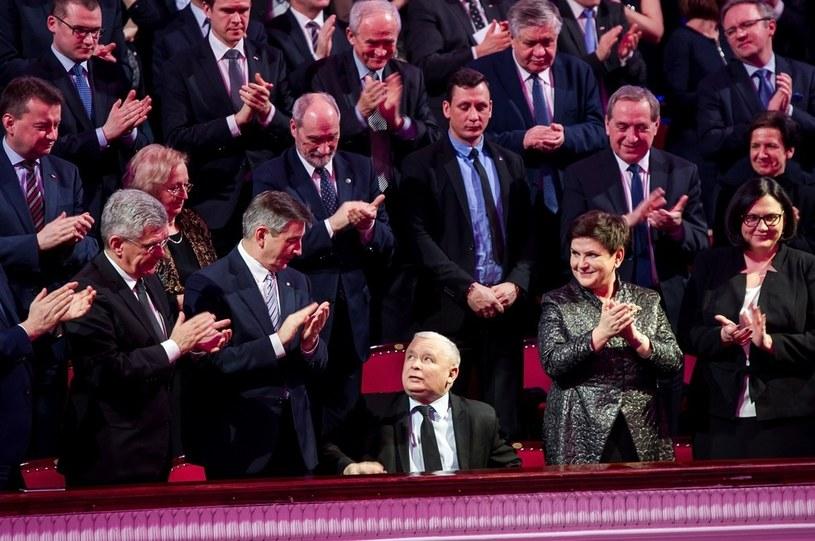 """Jarosław Kaczyński uznany """"człowiekiem wolności"""" przez prawicową gazetę /Rafał Oleksiewicz /Reporter"""