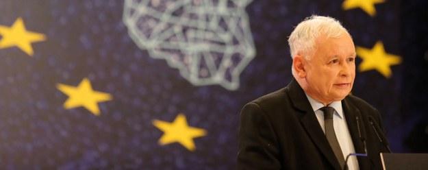 Jarosław Kaczyński w Katowicach / Andrzej Grygiel    /PAP
