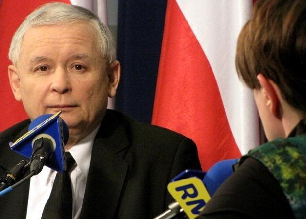 Jarosław Kaczyński w Przesłuchaniu RMF FM /RMF