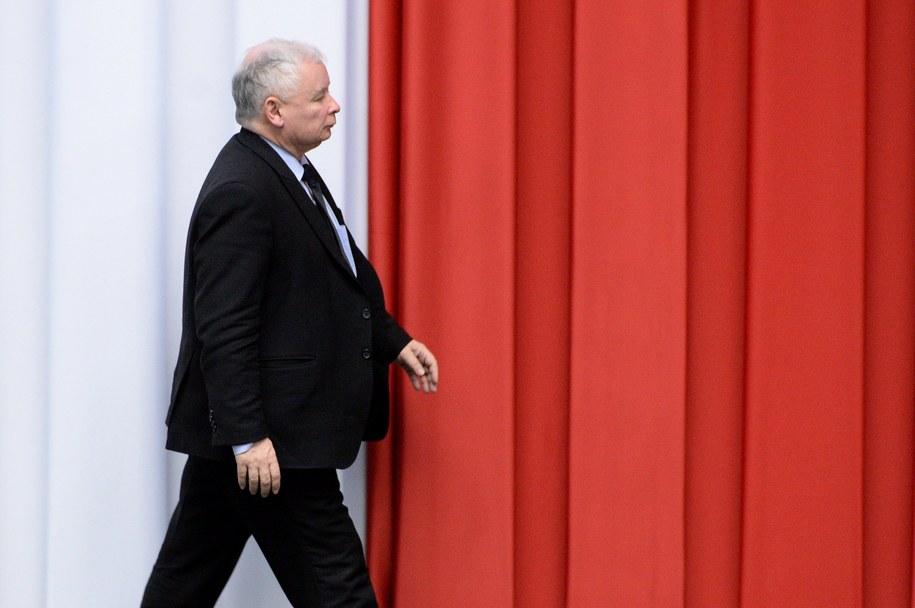 Jarosław Kaczyński w Sejmie /Jacek Turczyk /PAP