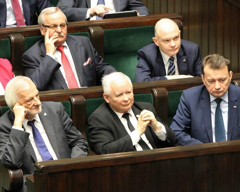 Jarosław Kaczyński w Sejmie /Robert Ostrowski /East News