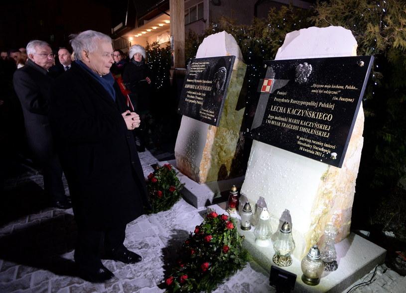 Jarosław Kaczyński w Starachowicach / Piotr Polak    /PAP