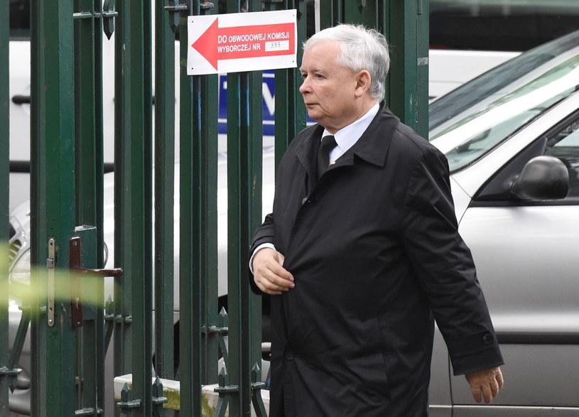 Jarosław Kaczyński zagłosował w wyborach prezydenckich 2015; zdj. ilustracyjne /Radek Pietruszka /PAP