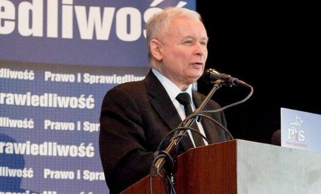 Jarosław Kaczyński /Grzegorz Michałowski /PAP