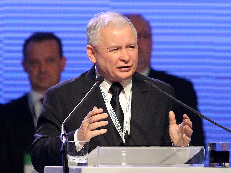 Jarosław Kaczyński /Grzegorz Momot /PAP