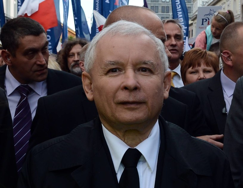 Jarosław Kaczyński /AFP