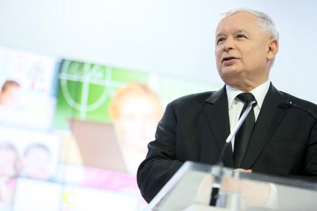 Jarosław Kaczyński. /Leszek Szymański /PAP
