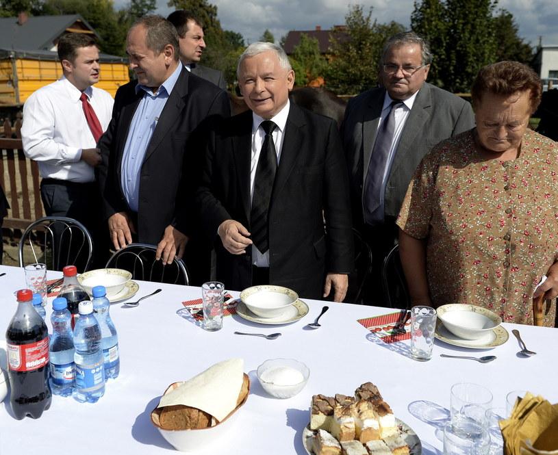 Jarosław Kaczyński /Darek Delmanowicz /PAP