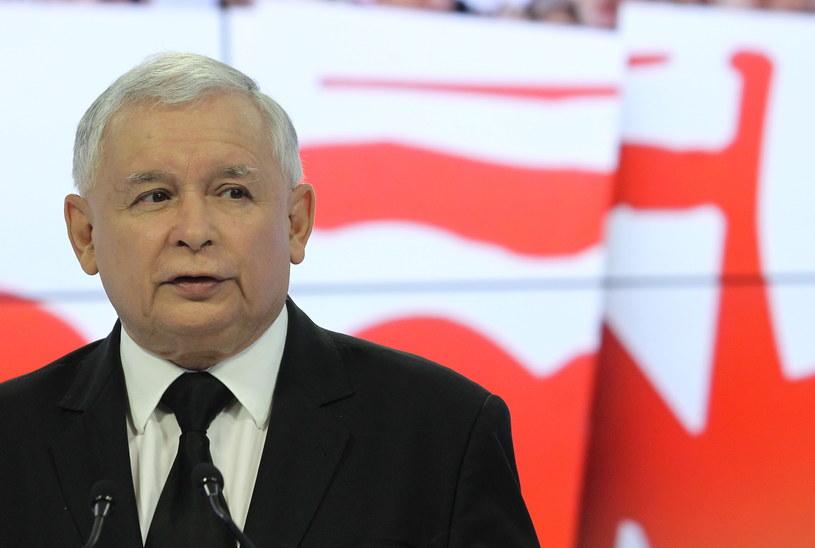 Jarosław Kaczyński /Radek Pietruszka /PAP