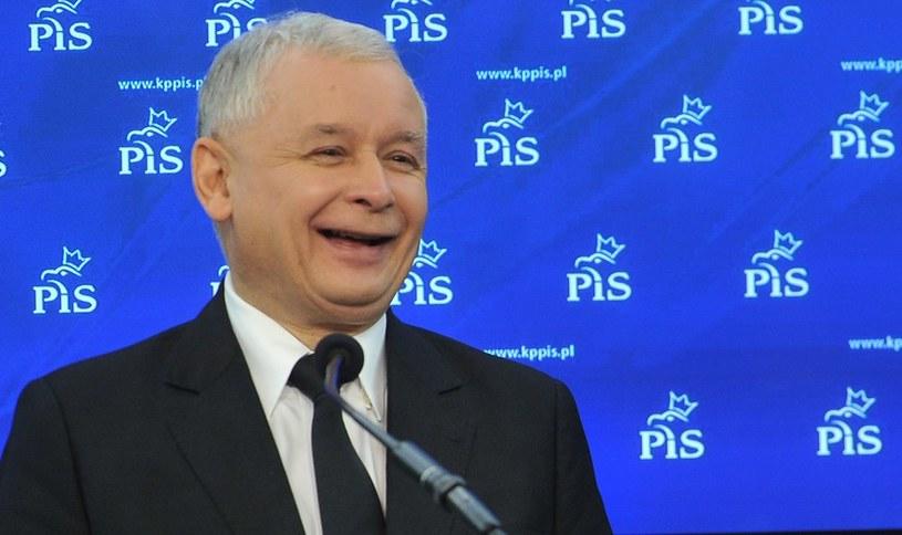 Jarosław Kaczyński /Witold Rozbicki /Reporter