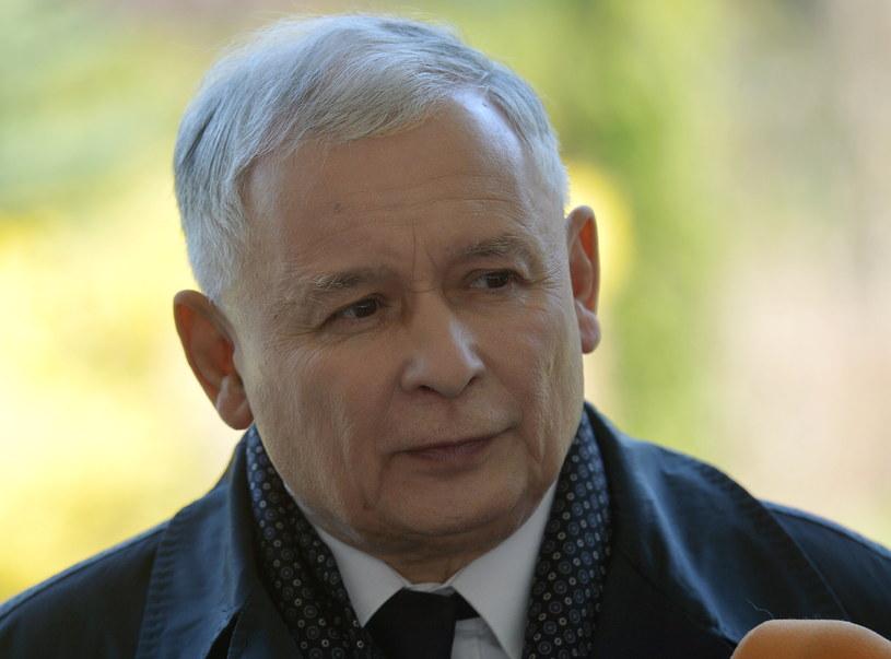 Jarosław Kaczyński /Radek Piertuszka /PAP