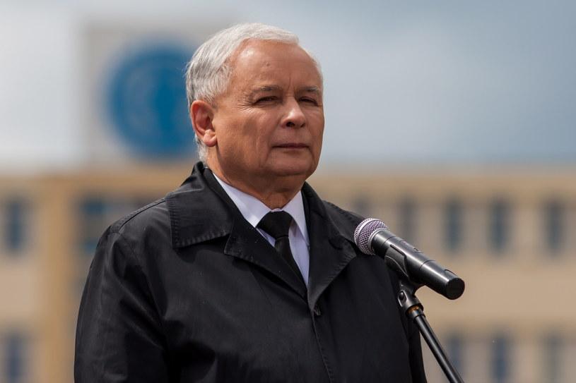 Jarosław Kaczyński /Paweł Jaskółka /PAP