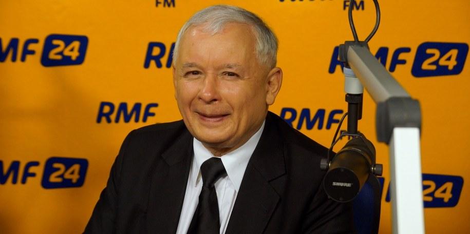 Jarosław Kaczyński /Michał Dukaczewski /Archiwum RMF FM
