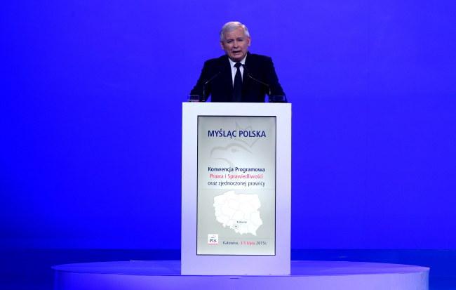 Jarosław Kaczyński /PAP/Andrzej Grygiel    /PAP