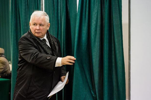 Jarosław Kaczyński /Wojtek Radwański /AFP