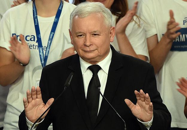 Jarosław Kaczyński /Janek Skarżyński /AFP