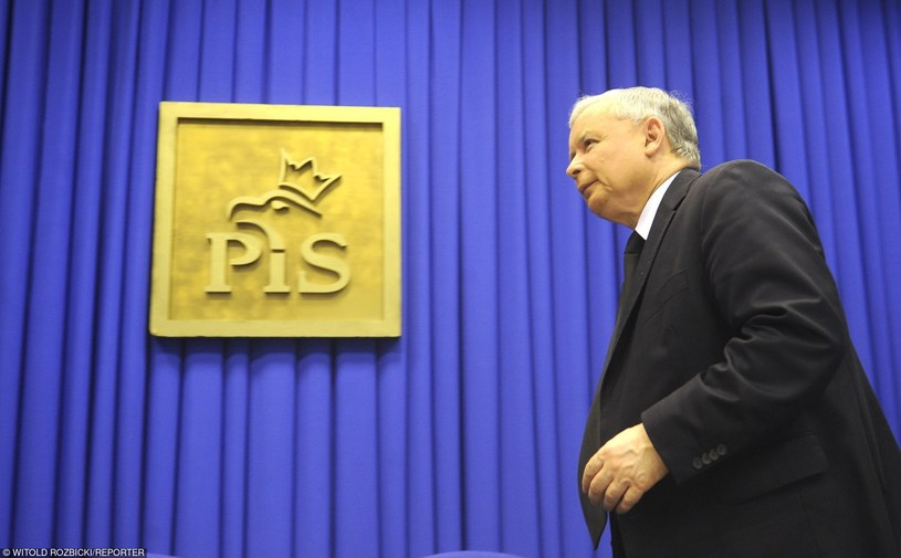 Jarosław Kaczyński /Witold Rozbicki/REPORTER /East News