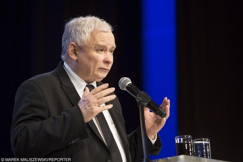 Jarosław Kaczyński /Marek Maliszewski  /Reporter