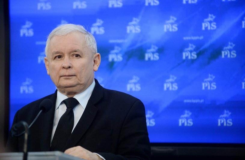 Jarosław Kaczyński /Bartłomiej Zborowski /PAP