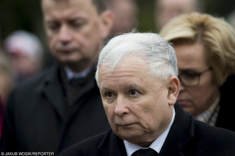 Jarosław Kaczyński /Jakub Wosik  /Reporter