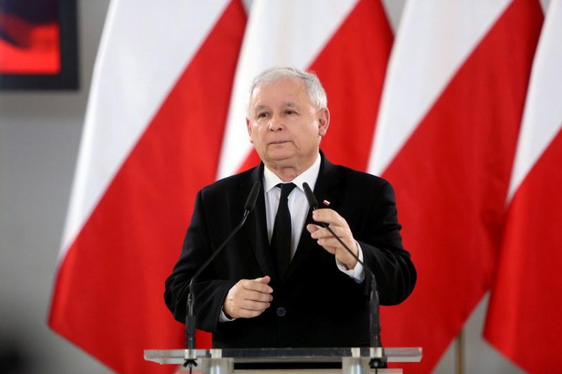 Jarosław Kaczyński /Leszek Szymański /PAP