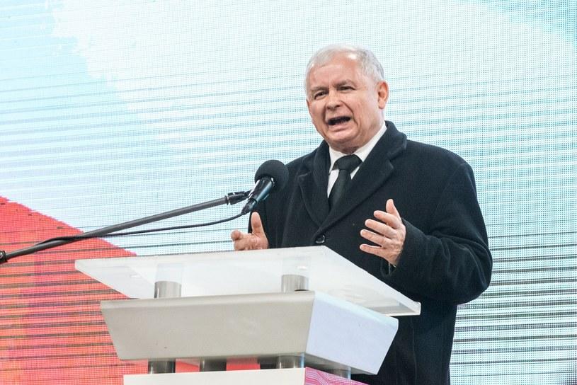 Jarosław Kaczyński /Kacper Bierylo /East News