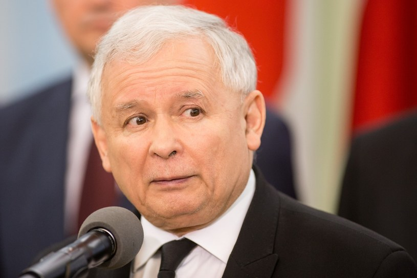 Jarosław Kaczyński /Maciej Luczniewski/REPORTER /East News