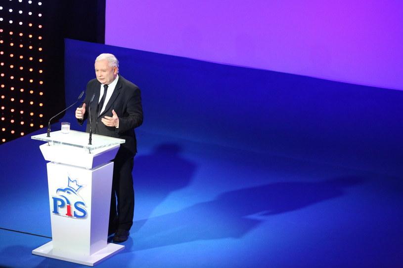 Jarosław Kaczyński /Stanisław Rozpędzik /PAP
