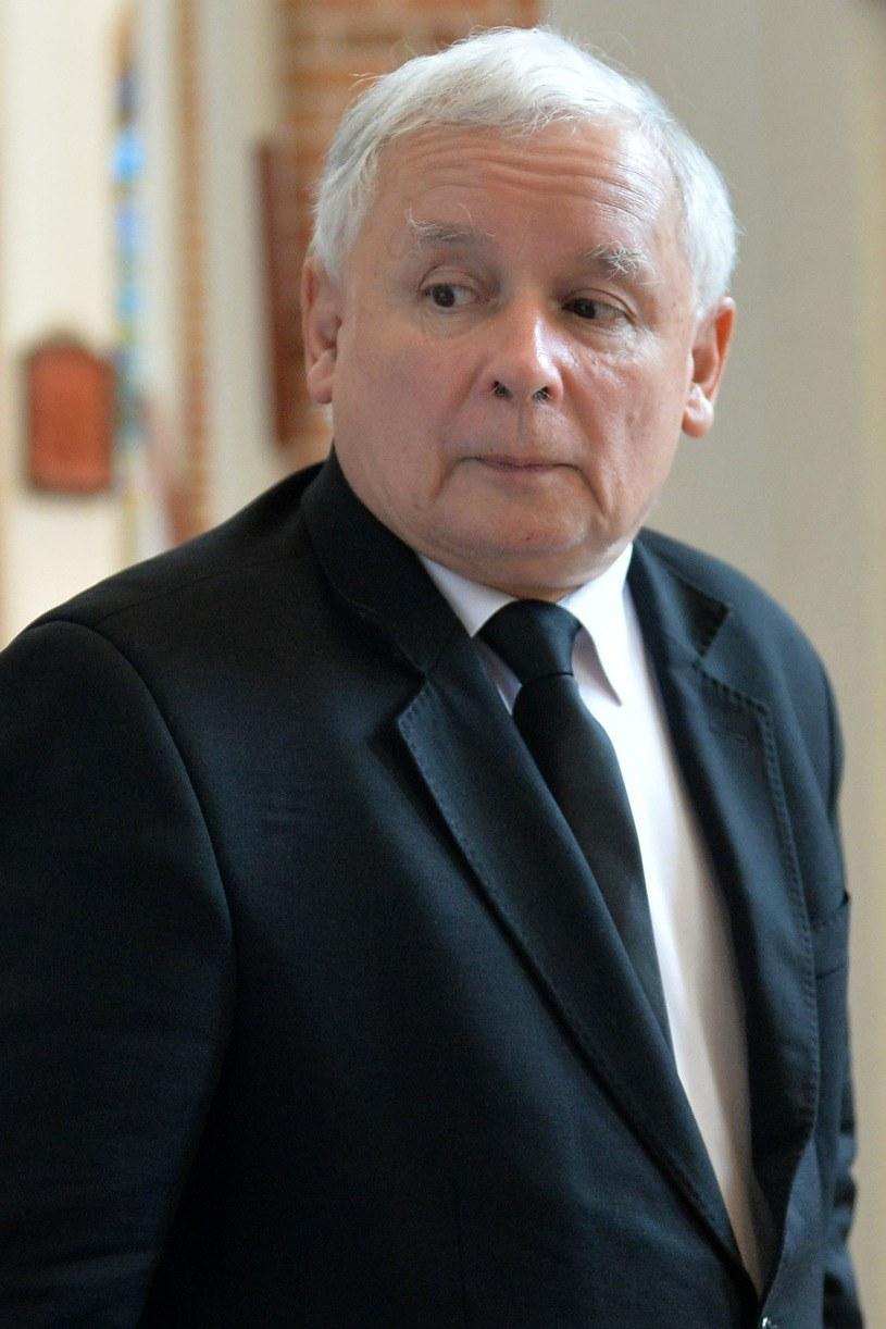 Jarosław Kaczyński /Łukasz Szelemej /Reporter