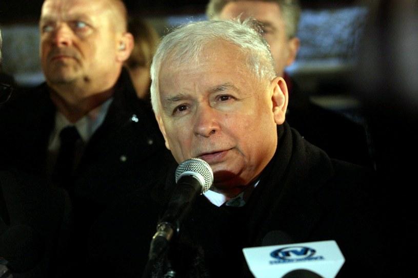 Jarosław Kaczyński /Paweł Malecki /