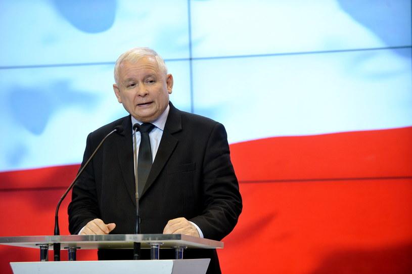 Jarosław Kaczyński /Marcin Obara /PAP