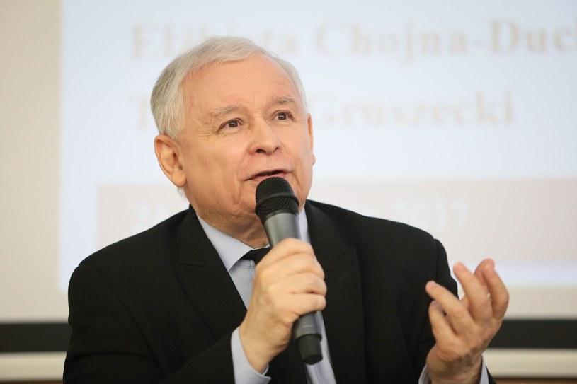 Jarosław Kaczyński /Wojciech Jargilo /Reporter
