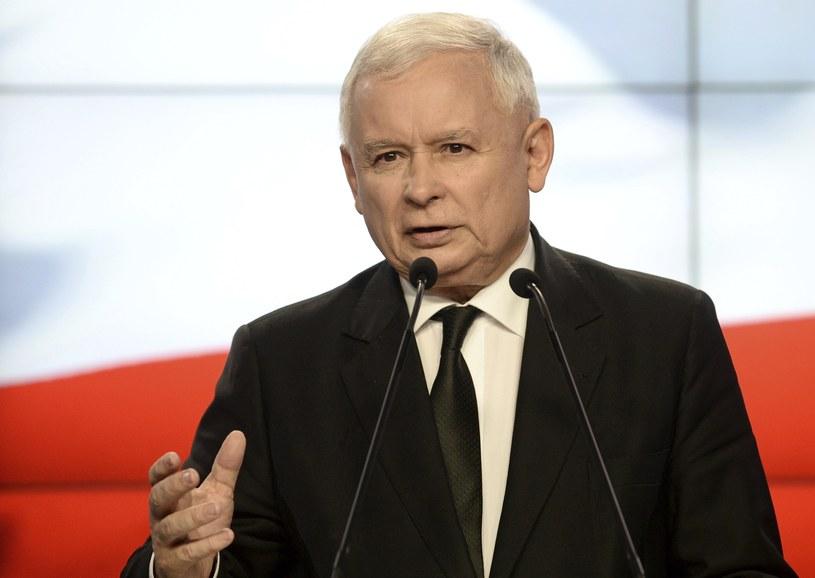 Jarosław Kaczyński /AP /East News