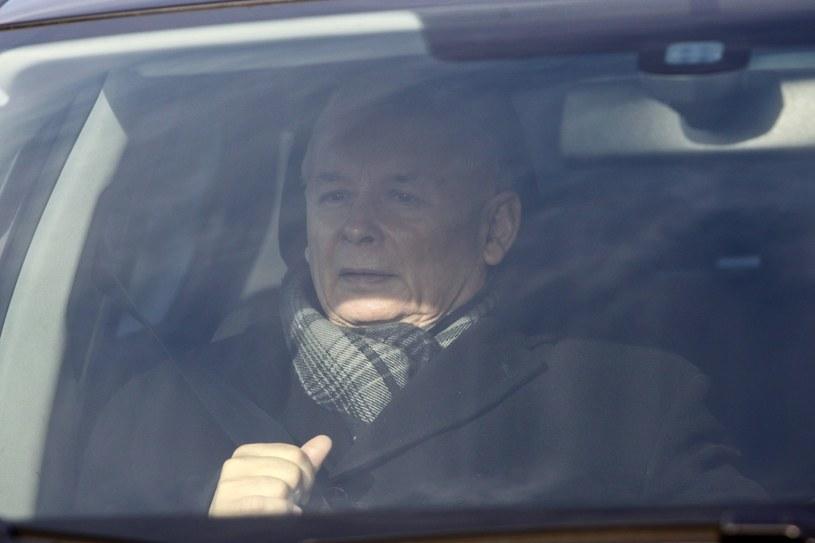 Jarosław Kaczyński /Paweł Dąbrowski