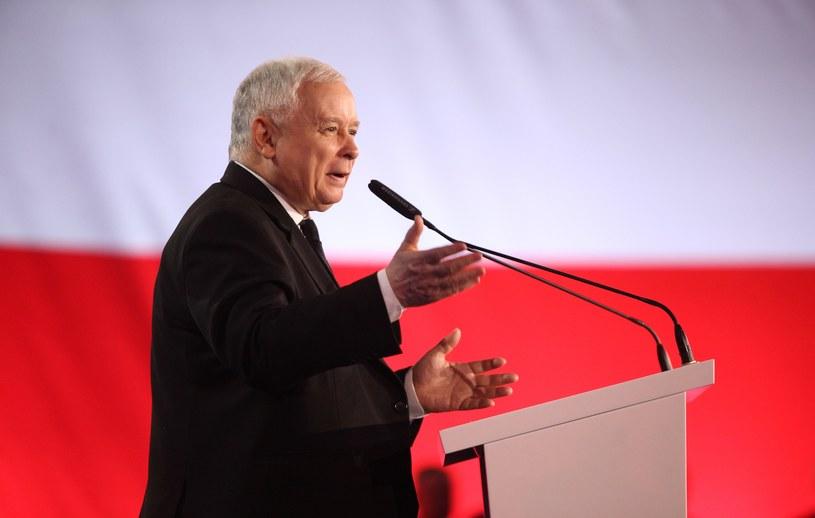 Jarosław Kaczyński /Stefan Maszewski /Reporter