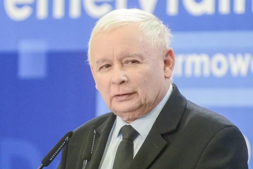 Jarosław Kaczyński /Piotr Kamionka /Reporter