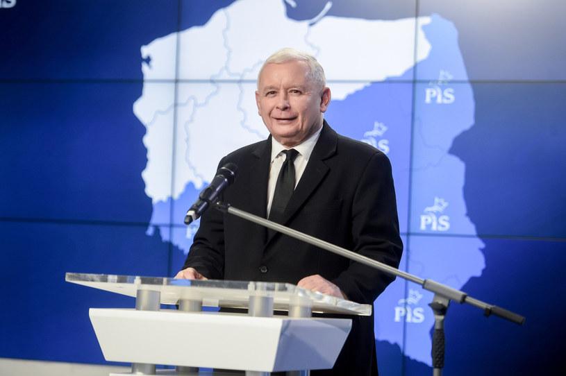 Jarosław Kaczyński /Zbyszek Kaczmarek /Reporter
