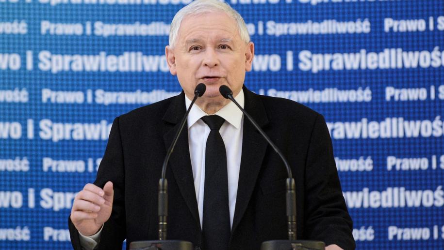 Jarosław Kaczyński /Jakub Kamiński   /PAP