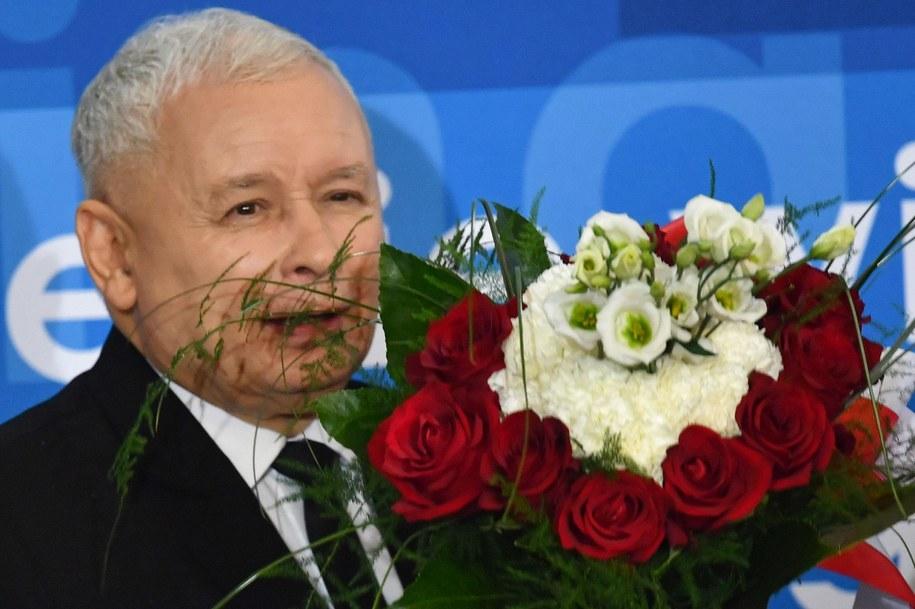 Jarosław Kaczyński / Piotr Polak    /PAP